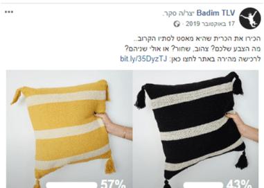 BADIM TLV פייסבוק